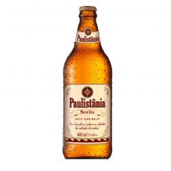 Cerveja Paulistania Marco Zero - unidade garrafa 600ml