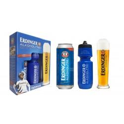 Kit Erdinger Alkoholfrei - 1lt 500ml+1copo500ml+1squeeze