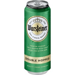 Cerv. Warsteiner Double Hopped - unid lt 500ml