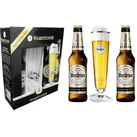 Kit Warsteiner - 2grfs 330ml Premium+1tulipa 200ml