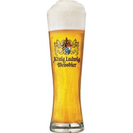 Copo Konig Ludwig Weissbier - 1unid 500ml