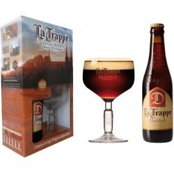 Kit La Trappe Dubbel - 1 grf 330ml+1taça250ml