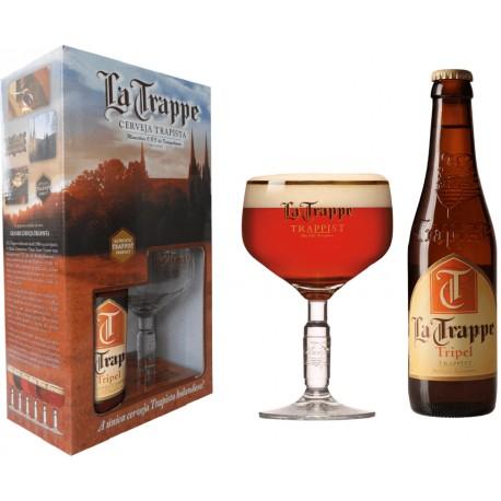 Kit La Trappe Trippel - 1 grf 330ml+1taça250ml