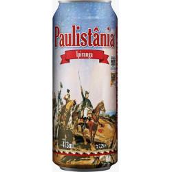 Cerv. Cerveja Paulistânia Ipiranga - unid. lata 472ml