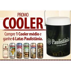 PROMO COOLER PAULISTÂNIA - GRÁTIS 6 LATAS