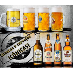 PROMO CANECAS 500ML + CERVEJAS 500ML