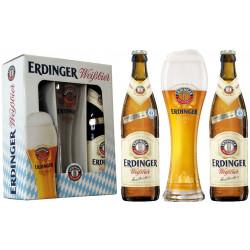 Kit Erdinger - 2grfs 500ml(claras)+1copo 500ml