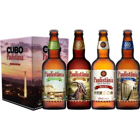 Kit Cubo Paulistânia 4grfs 500ml – MZero/Capri./V.Chá/T.Onze