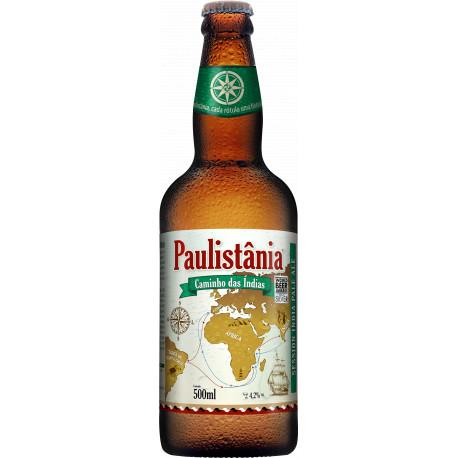 Cerveja Paulistania Caminho das Índias - unidade garrafa 500ml