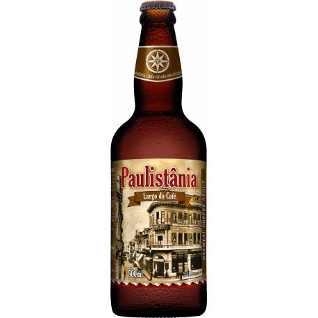 Cerveja Paulistania Largo do Café - unidade garrafa 500ml