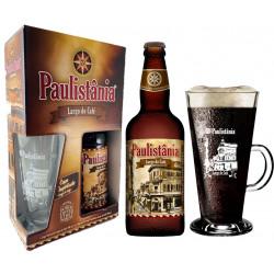 Kit Paulistania Largo do Café - 1 garrafa 500ml + 1 Caneca 360 ml