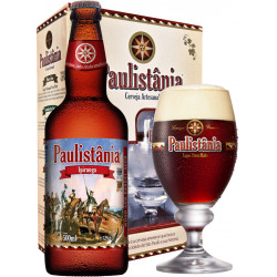 Kit Paulistania Ipiranga - 1 garrafa 500ml + 1 Taça 300 ml