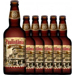 Cerveja Paulistania Largo do Café - caixa com 6 garrafasx500 ml