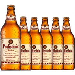 Cerveja Paulistania Marco Zero - caixa com 6 garrafasx600 ml