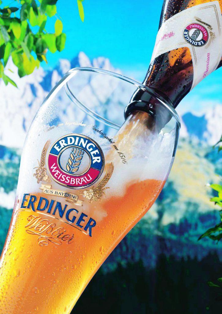 Bier & Wein e a cerveja Erdinger ao BrasilErdinger ao Brasil