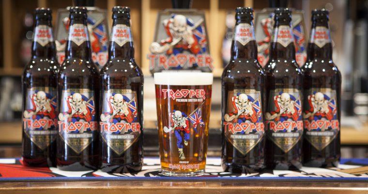 A cerveja do rock: conheça a Trooper Iron Maiden
