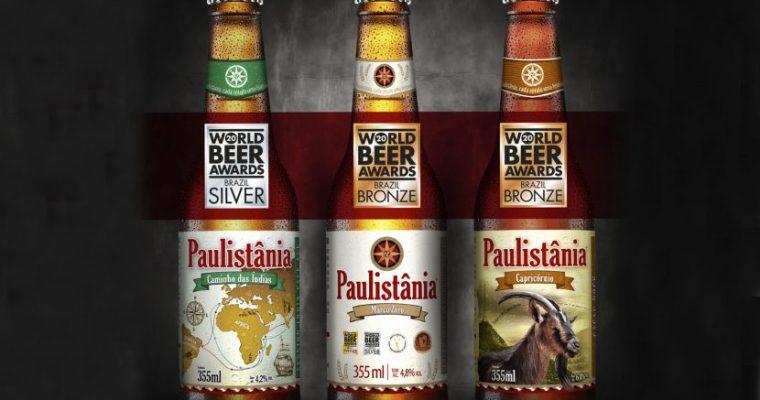 Cervejas Paulistânia são premiadas no World Beer Awards 2020