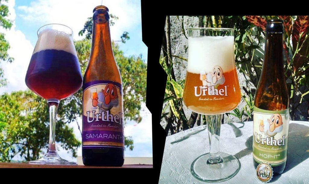 Cerveja Urthel Samaranth e Urthel Hop-It