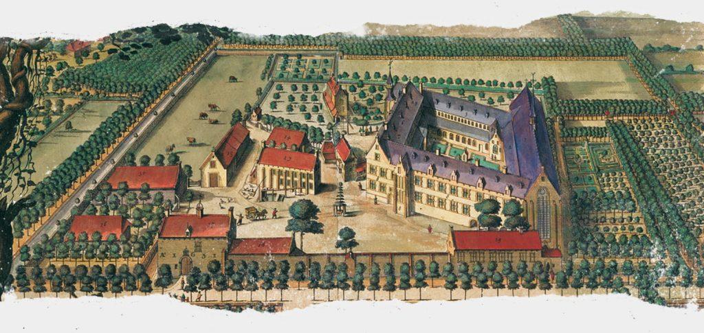 Imagem do mosteiro onde a Corsendonk era fabricada