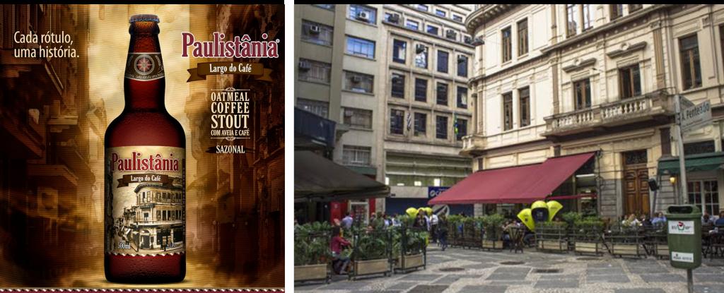 Paulistânia Largo do Café e o Largo do Café fonte de sua inspiração