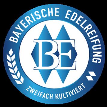 selo Bayerische Edelreifung texto cerveja híbrida