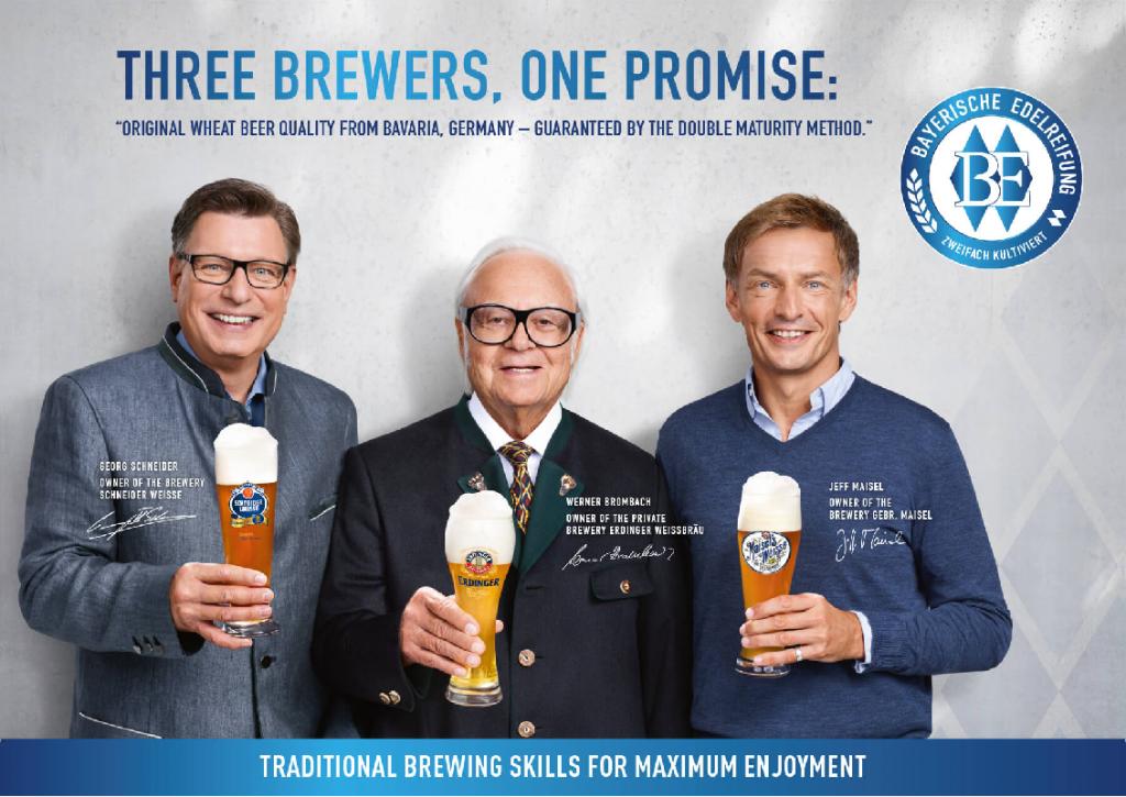 As 3 cervejarias que possuem o selo de certificado de Maturação Nobre Bávara