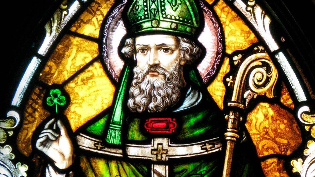imagem de São Patricio, santo  homenageado no Saint Patrick's Day