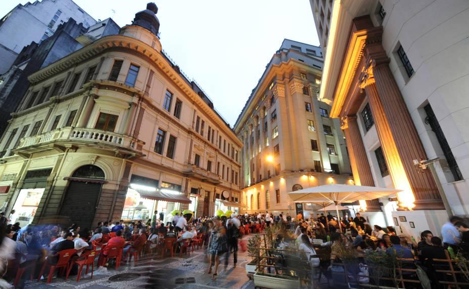 Largo do Café, no centro da cidade de São Paulo