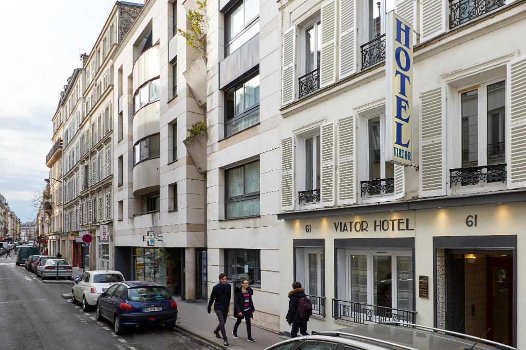 Fachada do Hotel Viator em Paris