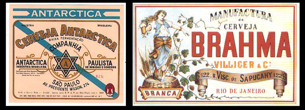 Antarctica e Brahma: exemplos de cerveja em terras brasileiras