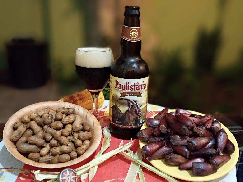 Festa Junina Cervejeira com Paulistânia Bock, amendoim e pinhão