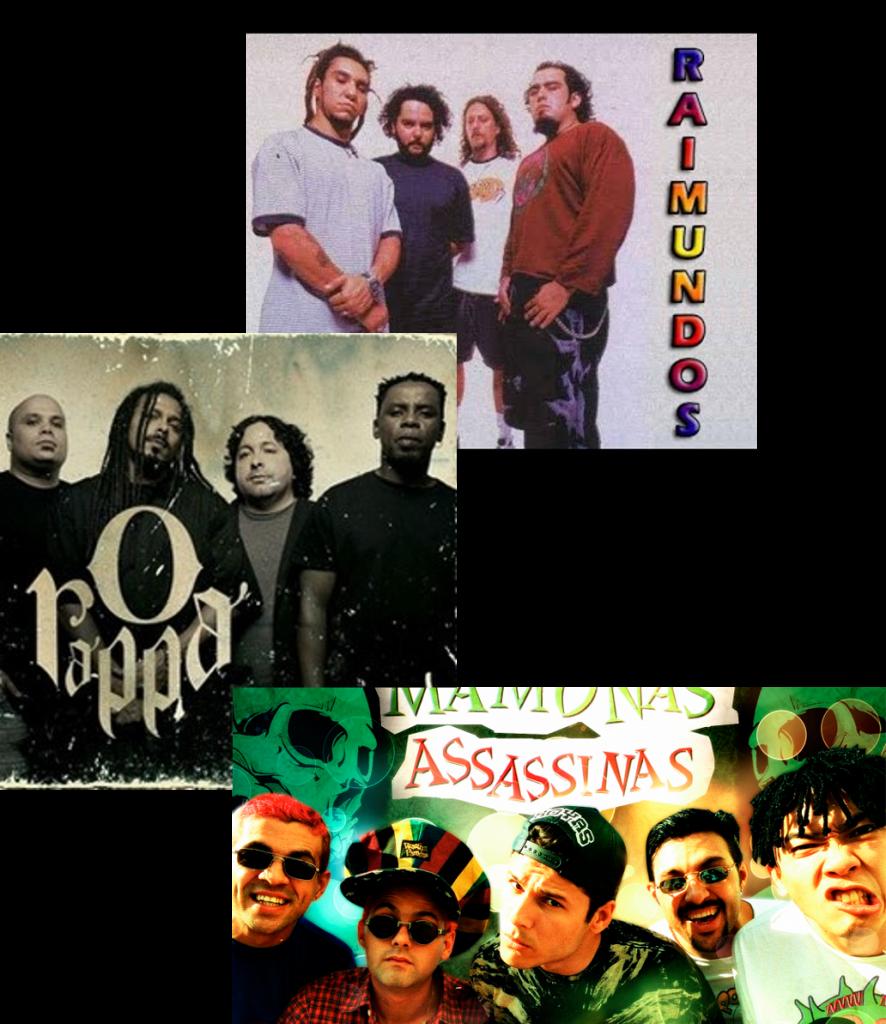 Bandas brasileiras inicio década de 90