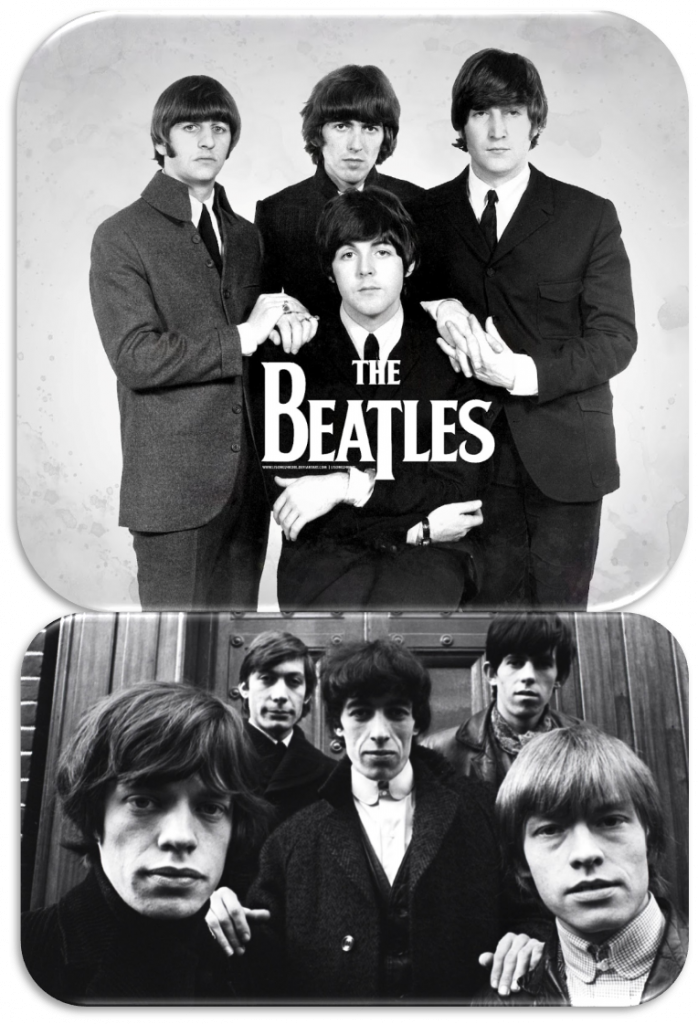 The Beatles e Rolling Stones