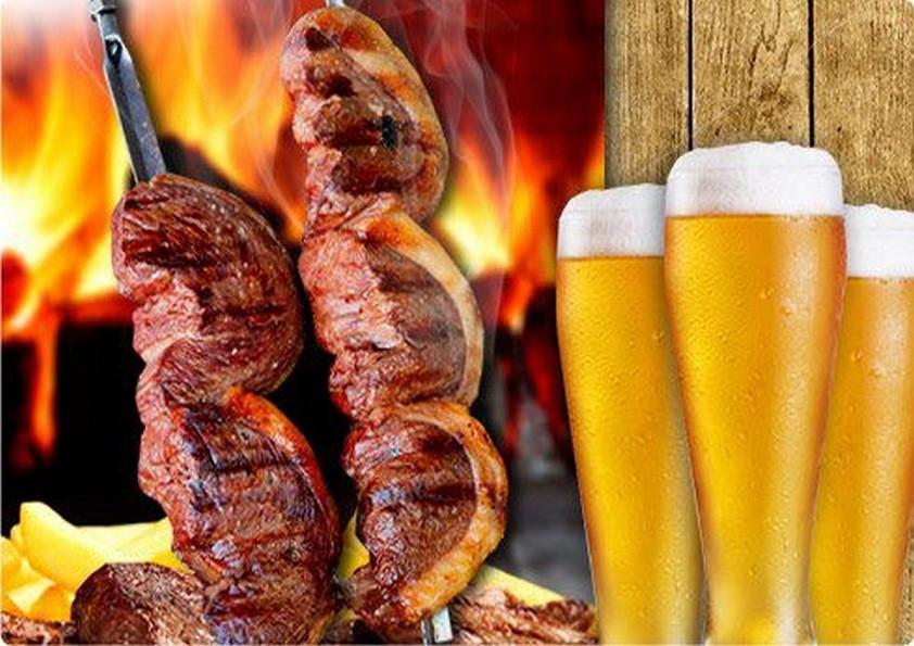 Saúde com cerveja mas com moderação