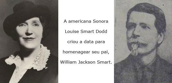 Homenagem de Louise Dodd para seu pai