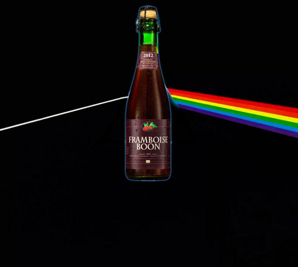 Rock psicodélico desde 1965 com a cerveja Framboise boon