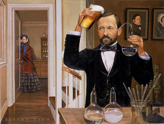 Como Pasteur ajudou a cerveja mudou a história do mundo