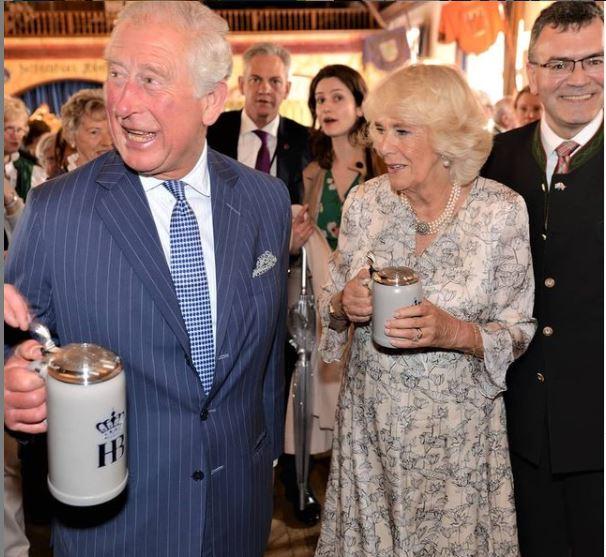 príncipe Charles e a duquesa Camilla