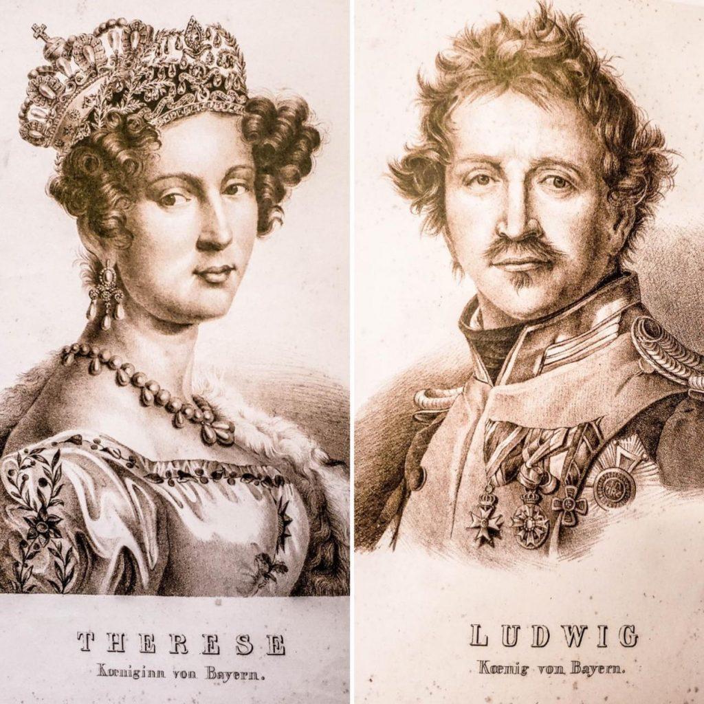 príncipe Ludwig e princesa Therese