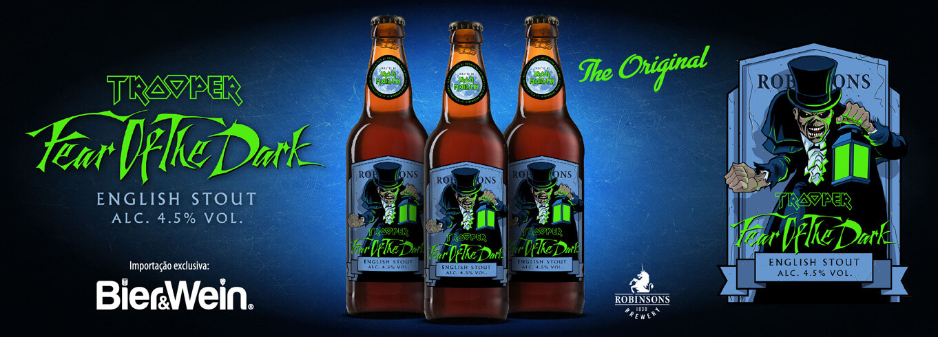 Cerveja Iron Maiden Fear of the Dark